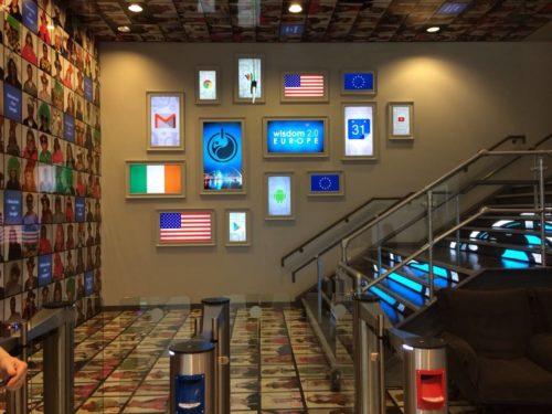 Lobby of Google Dublin