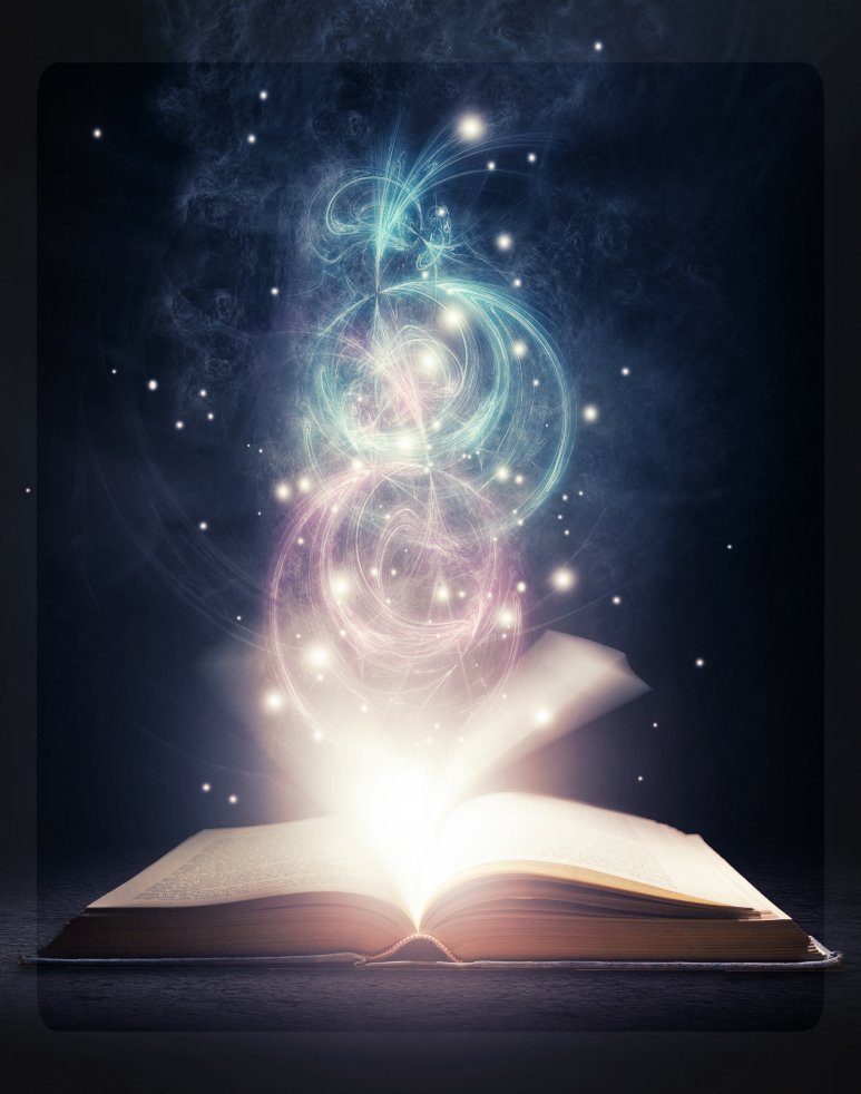 Image result for glowing book