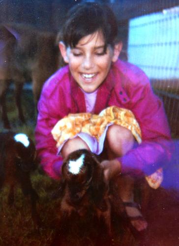 Jodi and me 1986