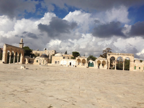 Courtyard on the Temple Mount