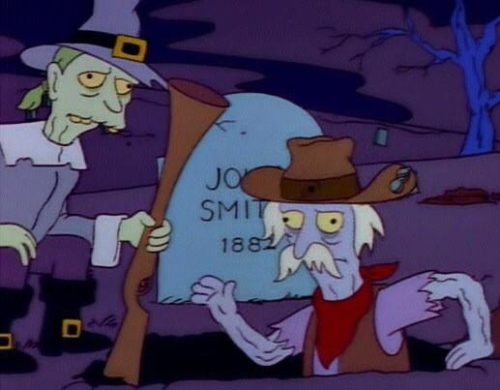 John Smith 1: Excuse me, I'm John Smith. John Smith 2: John Smith, 1882? John Smith 1: My mistake.
