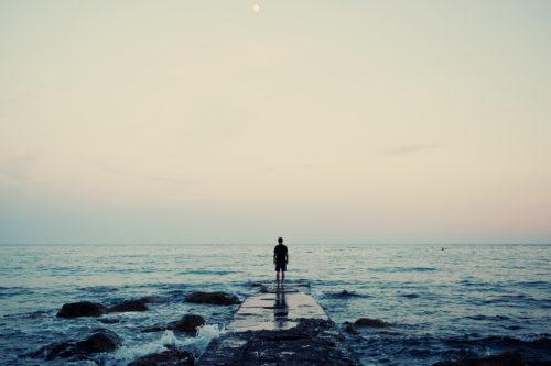 2015-04-Life-of-Pix-free-stock-photos-sea-peaople-water-waves-back-Sunset-Joshua-earle
