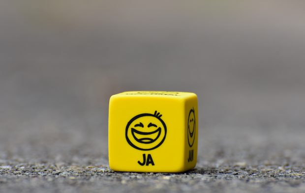 happy dice