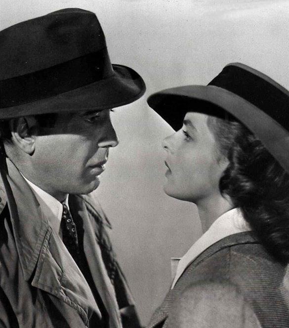 Casablanca Humphrey Bogart, Ingrid Bergman