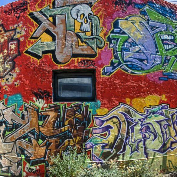 Flagstaff graffiti